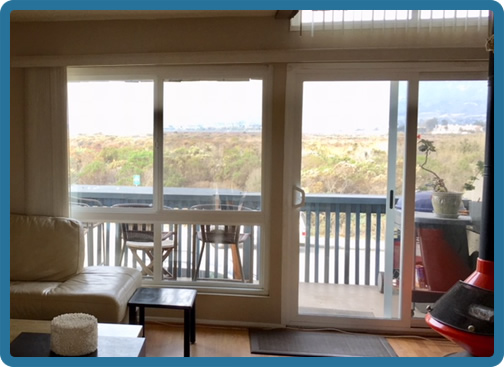 Living Room with Salt Marsh View